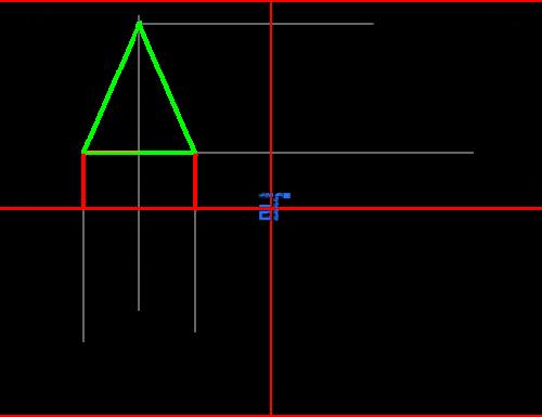 Proiezioni ortogonali di solidi sollevati dal Piano Orizzontale